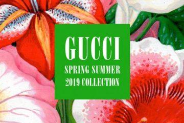 غوتشي وأناقة الديسكو Paris Fashion week Spring 2019 Gucci