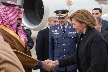 صور.. ولي العهد السعودي يصل العاصمة الإسبانية مدريد