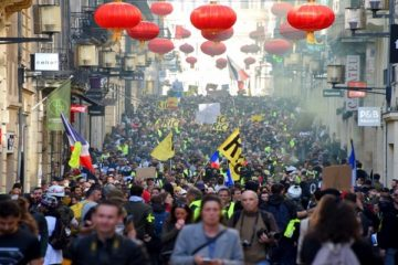 وسط دعوات لـ»تسونامي أصفر».. «السترات» تتظاهر للأسبوع الـ15 في فرنسا