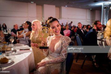 Jolie Nguyen تحضر حفل افتتاح «جوائز المدونين العالمية» في الدورة الثانية والسبعين لمهرجان كان السينمائي في 24 مايو 2019 في مدينة كان بفرنسا.