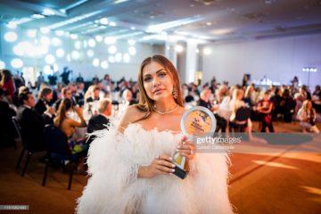 Karolina Zubovka-Mattes تحضر حفل افتتاح «جوائز المدونين العالمية» في الدورة الثانية والسبعين لمهرجان كان السينمائي في 24 مايو 2019 في مدينة كان بفرنسا.
