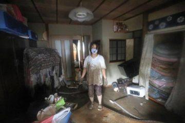 مقتل 18 شخصاً على الأقل في أمطار غزيرة جنوب غرب اليابان