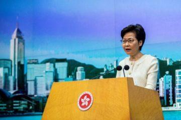 رئيسة السلطة التنفيذية في هونغ كونغ تتعهّد تطبيق قانون الأمن القومي «بصرامة»