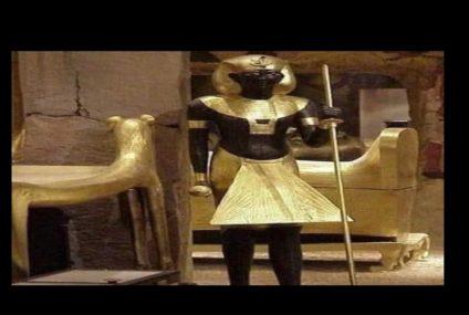صور| تعرف على أهم مقتنيات «توت عنخ آمون» التي تعرض في متحف شرم الشيخ