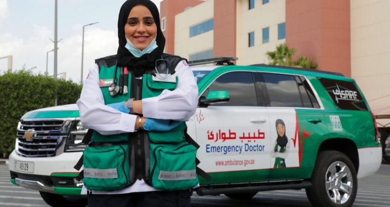 مريم المنصوري.. أول طبيبة ميدانية مواطنة في «إسعاف دبي»