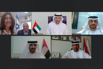 الإمارات وإسرائيل تبحثان التعاون في مجال البنية التحتية والنقل
