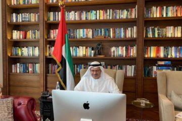 أنور قرقاش يترأس الاجتماع الثاني عشر لمجلس أمناء أكاديمية الإمارات الدبلوماسية