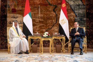 محمد بن زايد: العلاقات الأخوية مع مصر استراتيجية وتقوم على الإيمان بالمصير الواحد منذ عهد الشيخ زايد