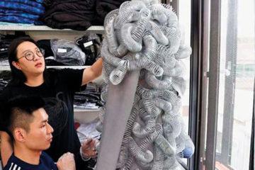موضة تايوانية: أسلاك ومسامير في الفساتين