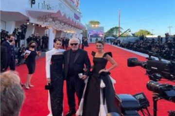 نجوم ونجمات السينما العالمية فى افتتاح مهرجان فينيسيا السينمائى