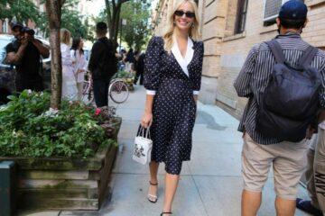 أزياء الشارع من أسبوع الموضة في نيويورك.. تصاميم تنبض بالحيوية والألوان المُبهجة
