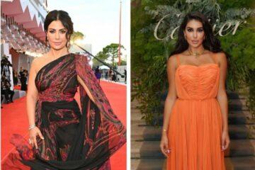 النجمات العربيات يخطفن الأنظار على السجادة الحمراء في مهرجان فينيسيا 2021