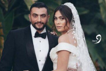 هاجر أحمد تتألق بفستان زفاف من حقبة الستينيات وسط احتفال ضخم