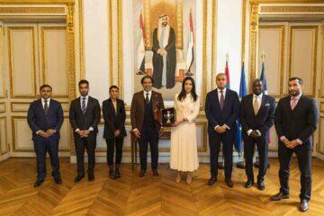 Dubaï World Cup (كأس دبي العالمي)هند العتيبة تبحث مع الرحماني خطط «دولي سباقات الخيل العرب : ية»