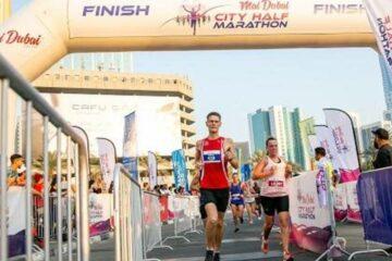 دبي تحتضن سباق نصف ماراثون المدينة للعام الثالث Marathon (ماراثون)