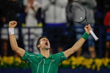 ديوكوفيتش وتسيتسيباس إلى نهائي دولية سوق دبي الحرة للتنس ATP Dubaï