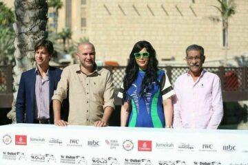 صور| صناع طلق صناعي في ندوة الفيلم بمهرجان دبي