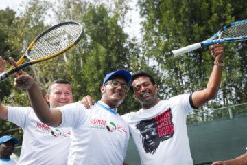 بايس يزور الأطفال من أصحاب الهمم في دولية دبي لتنس الرجال ATP Dubaï